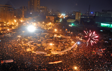 Tahrir Square on February 11