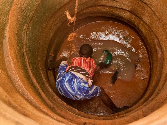 Tapped well in Tanzania. (Lynn Johnson, National Geographic)