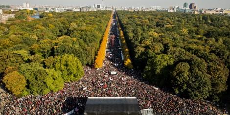 BERLIN, GERMANY - OCTOBER 10: