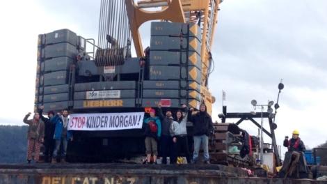 kinder-morgan-protesters-arrested